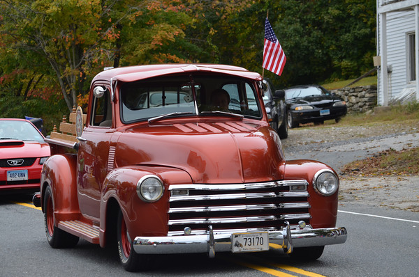 1950 Ford Pickup driven by James Jacobs.