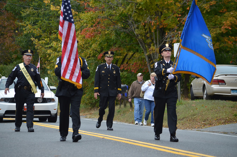 Coventry Police Department Honor Guard.