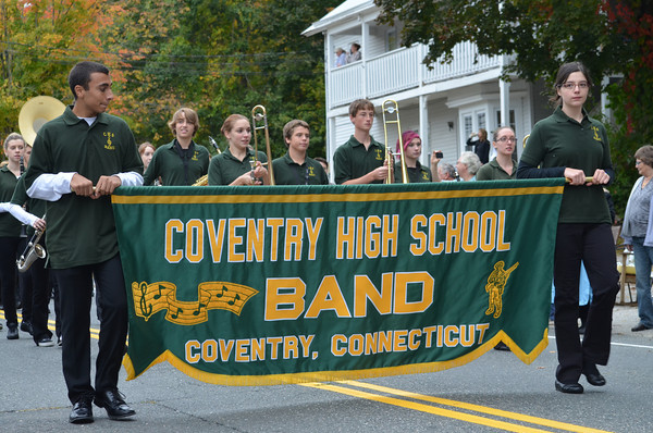 Coventry High School Marching Band.