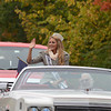 Marie-Lynn Piscitelli, Miss Connecticut USA, in a 1974 Eldorado convertible driven by Jim Rau.