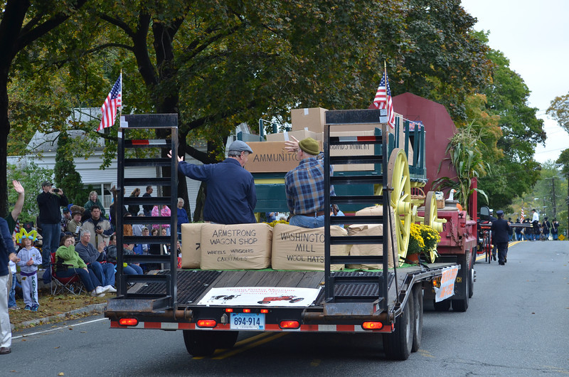 CT Historical Society float.