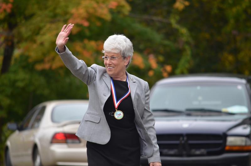 Lt. Governor Nancy Wyman.