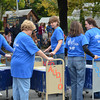 """Booth & Dimock Memorial Library """"Book Cart Drill Team"""""""