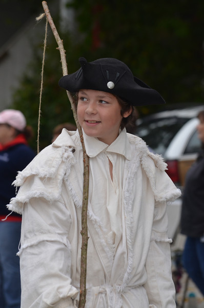 Nathan Hale as a young boy.