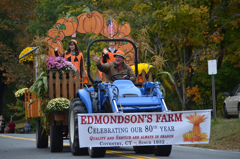 Edmondson's Farm Float. Edmondson's is celebrating their 80th year in business during 2012.