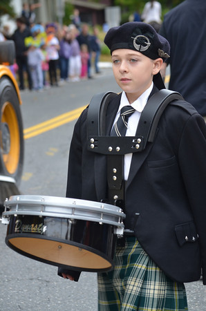 St. Patrick's Pipe Band.