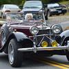 1939 Jaguar driven by Sue Gibbs.