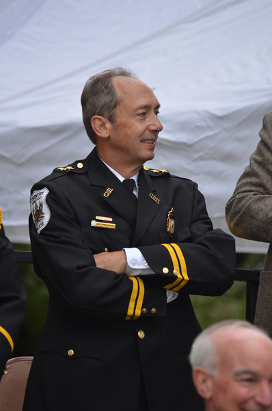 Police Chief and parade committee member Mark Palmer.