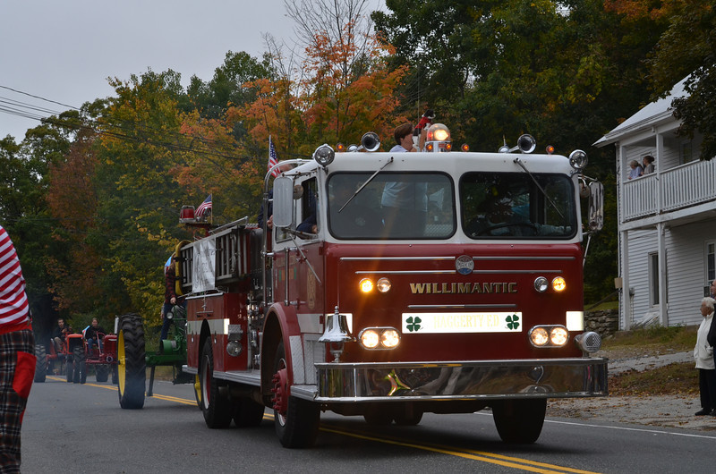 Willimantic Fire Truck.