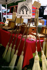 Another new vendor - wonderful brooms of all kinds!