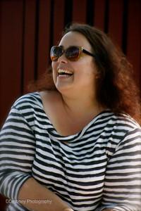 The lovely Caroline Finnegan - gardening teacher extraordinaire!