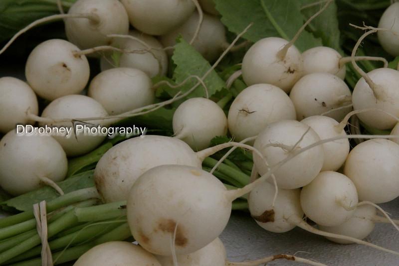 Tiny white turnips.