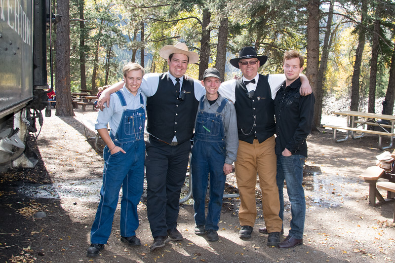 The Cowboy Train crew! Kyle, Dylan, Jonathan, Tyler, Nick