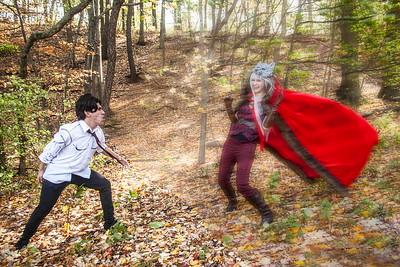 Bigby Wolf vs. Cerise Hood