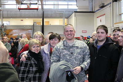 Cpt. Kucha send off to Afghanastan 2/15/2011