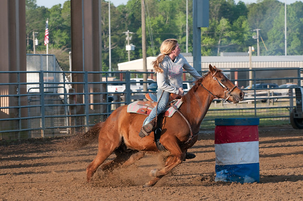 56th Annual Cracker Day Rodeo - Barrels Riders from 8:30am-9:30am on  Sat. Mar 26, 2011 in Flagler County, FL