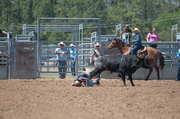 56th Annual Cracker Day Rodeo - Junior Bull Riding on Sat. Mar 26, 2011 in Flagler County, FL