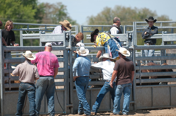 56th Annual Cracker Day Rodeo  - Senior Bull Riding on Sat. Mar 26, 2011 in Flagler County, FL.