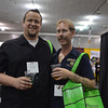 John Berkland of Wine Warehouse, and Ryan Summers of Good Karma Vegan Cafe. photos by: Stephanie Guerrero