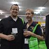 John Berkland of Wine Warehouse, and Ryan Summers of Good Karma Vegan Cafe. photos by: Stephanie Guerrero