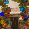 Glass Balls at the Craft Show