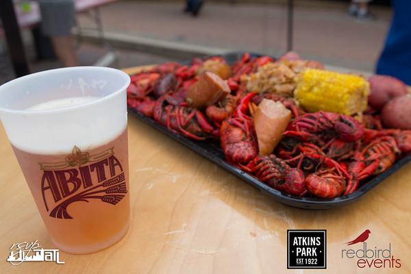 Crawfish Boil @ Atkins Park - Saturday 4-29-2017