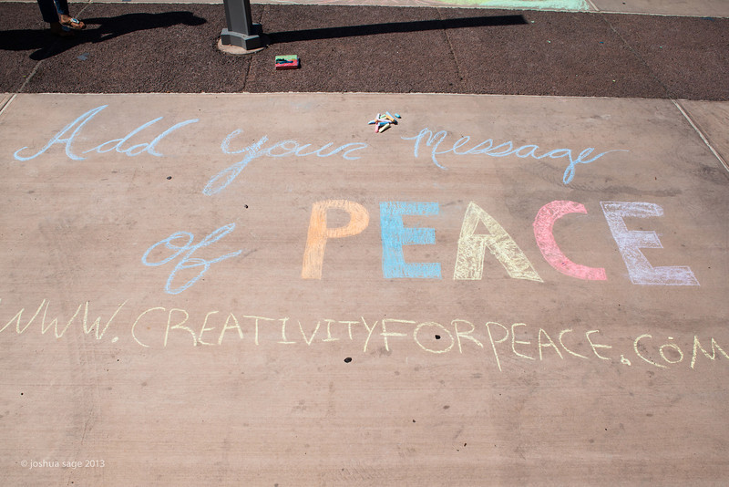 Chalk for Peace 2013-1914