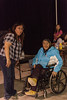 Creefest / Gathering of Our People in Moose Factory 2012 July 28th. Theresa Metatawabin with her daughter Denise