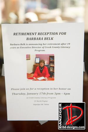Barbara Belk CCLP Retirement 1-17-13