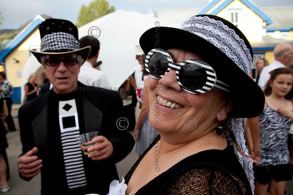Black & White (B&W) Ball hosted at the Crested Butte Heritage Museum. (Photo/Nathan Bilow)