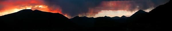 Paradise sunset panoramic 7 16 06