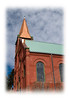 A church in Cripple Creek, Colorado; detail in this image is best viewed in a larger size.