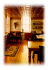 A dining room in an old hotel in Cripple Creek, Colorado; detail in this image is best viewed in a larger size.