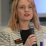 Taylor Ketchum, Jones PR, speaking during the first group during the Crisis Management Roundtable event held at the Petroleum Club in Downtown OKC, 8-21-2019.  photo by Mark Hancock