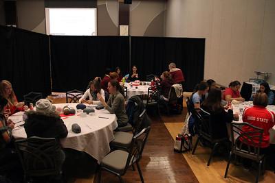 Crochet Class & Kohl Presentation