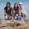 Annual sandcastle competition at Cromer  carnival