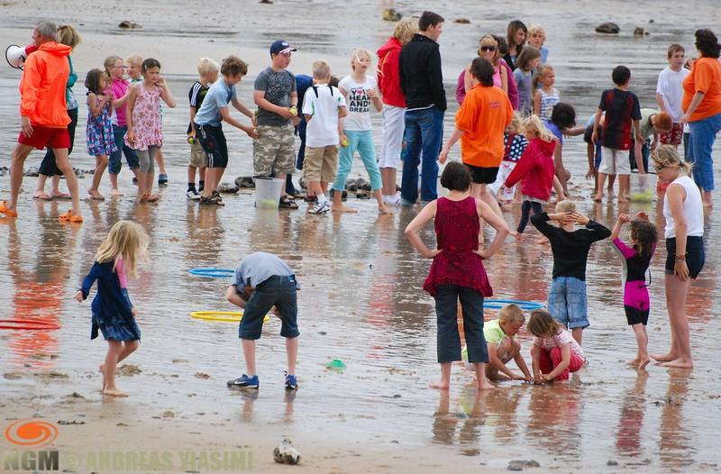 Cromer carnival beach Olympic Games