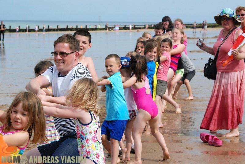 Cromer carnival beach Olympic Games