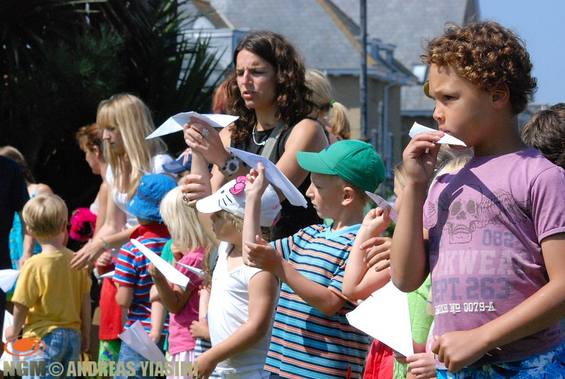 Cromer carnival paper boat competition