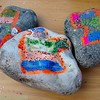 Cromer carnival stone painting