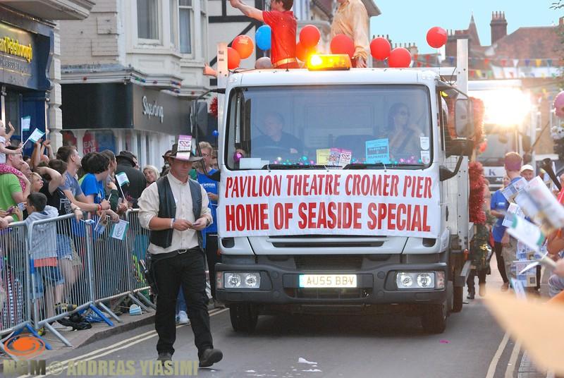 Cromer carnival parade