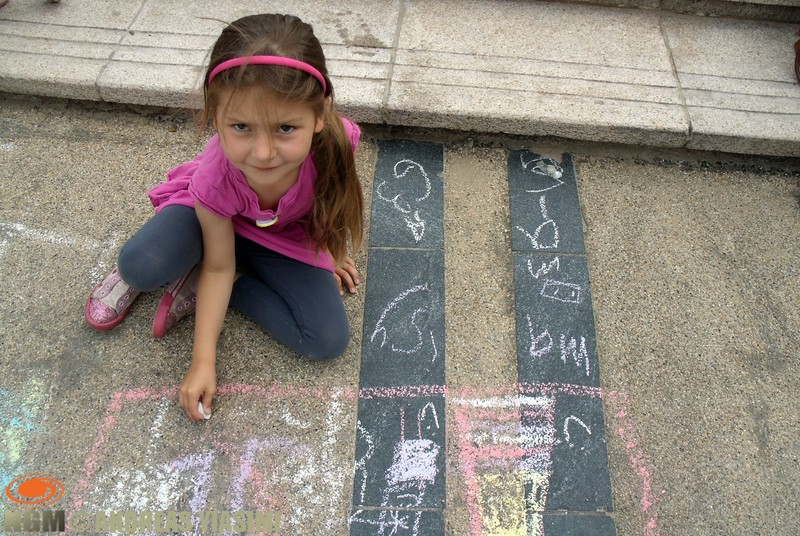Chalk on the prom competition