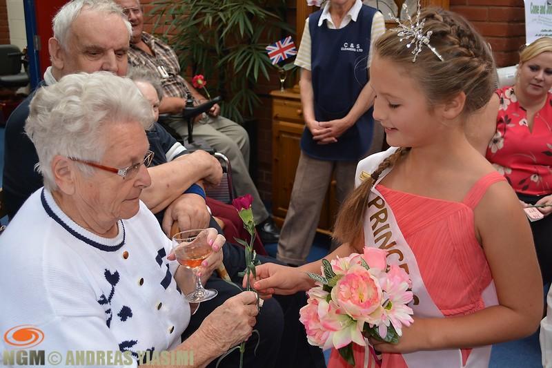 Cromer carnival royal family visits.