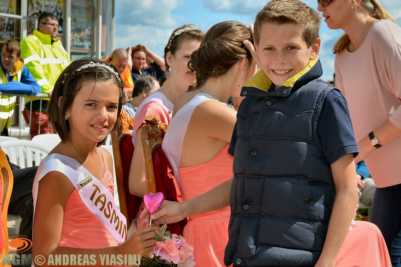 Miss Cromer crowning ceremony