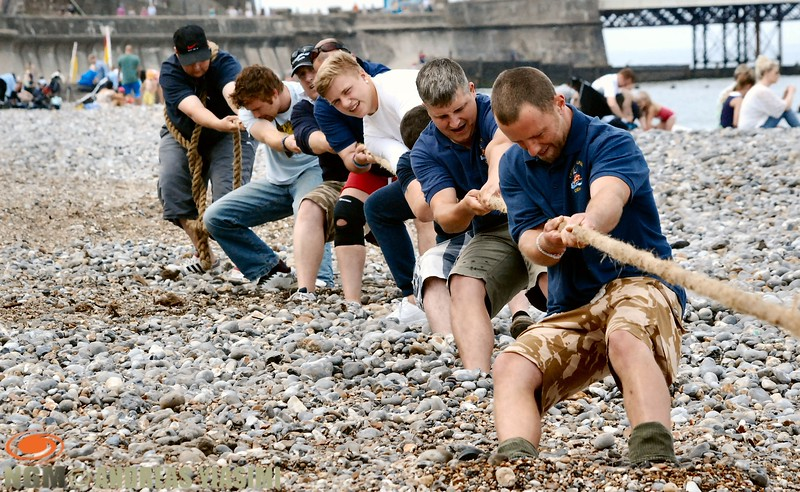 Cromer carnival tug of war