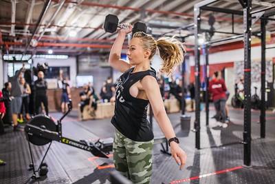 CrossFit Open 2018 - 18.1