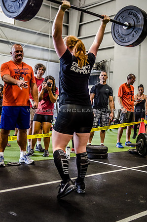 Garage Games Battle for the Island WOD 1: 10 mins to find 1RM Clean and Jerk.  Email SuperClearyPhoto@gmail.com for edited hi-res downloads and prints.