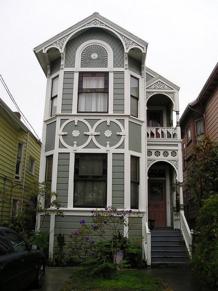 Victorian across from where I parked.
