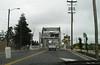 Crossing the High Street Bridge into Alameda.
