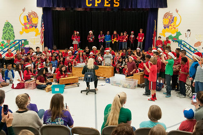 Crown Point Elementary Christmas Program 12-18-15